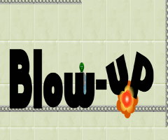 Blow-Up Title Screen